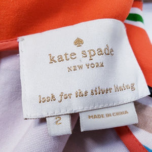 kate spade Dresses - Kate Spade Nico stripe stretch shift dress sz 2